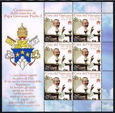 2012 Vatikan 1744 Kleinbogen postfrisch