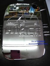 FOR TOYOTA HIACE COMMUTER 2005-2013 CHROME FUEL CAP OIL COVER TRIM