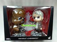Hot Toys Star Wars Han Solo & Chewbacca Cosbaby Collectible BoxSet