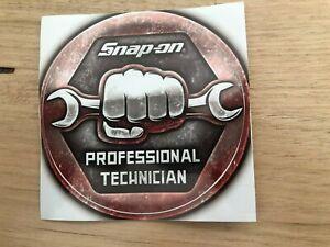"Snap on ""Professional Technician"" Sticker C101"