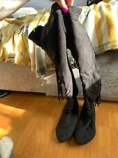 womens knee high boots size 6