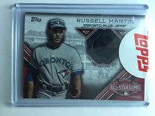 Russel Martin 2015 All Star Stitches Event Worn Jersey (Factory Sealed)