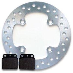 Rear Brake Disc Rotor + Pads for Suzuki LTZ 400 LTZ400 Quadsport (2003-2014) NEW
