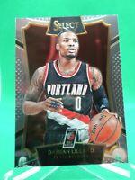 2015-16 Panini Select #52 Damian Lillard NICE Portland Trail Blazers
