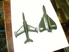 2 goodietoy Usaf planes. lockheed f90 & douglas skyray f4-d