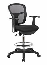 MESH DRAFTING CLERK STOOL OFFICE CHAIR YOU CAN USE THIS STOOL WITH THE ARMS REST