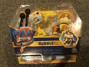 Paw Patrol The Movie: Hero Pup Figure Rubble
