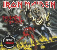 Iron Maiden - The Number Of The Beast CD - Studio Collection Remastered - SEALED