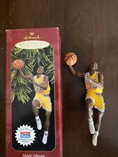 Magic Johnson Hallmark Keepsake Ornament Collector'S Series 3rd In Hoops