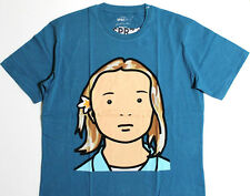 JULIAN OPIE x UNIQLO 'Elena. Schoolgirl.' SPRZ NY Graphic Art T-Shirt L**NWT**