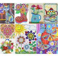 5D DIY Special Shaped Diamond Painting Kreuzstich Mosaik Stickerei Bastel Dekor