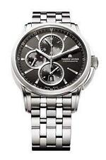 Mechanische (automatische) Maurice Lacroix Armbanduhren aus Edelstahl
