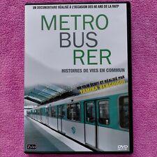 dvd Metro Bus RER histoire de vie en commun