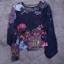 Women's Floral Chiffon Tops & Shirts
