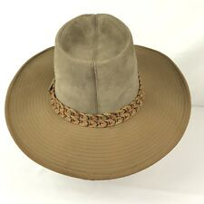 RESISTOL Auto conforme ranchman Gamuza Western Cowboy Sombrero Unisex 7 1 8  EE. UU. usado En Excelente Condición 6be23644c78