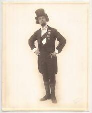 Portrait Photo Of Magician Herman Homar As Homar La Marr Comedy Chatter Hokum