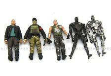 5x Terminator 4 Salvation 3.75 In.Figure Toys T-700 John Connor Barnes Marcus