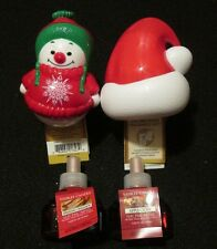 2 YANKEE CANDLE ELECTRIC NIGHT LIGHT FRAGRANCE UNITS & 2 APPLE CIDER REFILLS