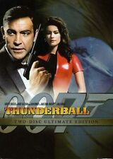 Sean Connery PG Rated DVDs & Blu-ray Thunderball Discs