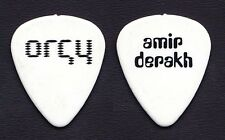 Orgy Amir Derakh Signature White Guitar Pick - 1999 Tour
