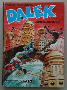 Terry Nation's Dalek Annual 1977 VG/VG+ (phil-comics)