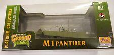 35049 1/72 German M 1 Panther Tank W/ Mine Plow Panzer Vehicle Trumpeter Model