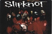 1999 Slipknot This Is A Different Sort Of Wildlife Vintage Bumper Sticker - Rare