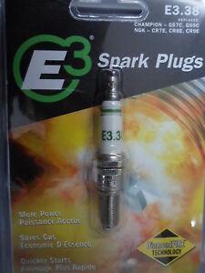 NOS E3 Spark Plug Diamond Fire Technology E3.38 Qty 1