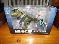 AXE COP AND WEXTER BOX SET, NEW IN BOX, MEZCO, 2013