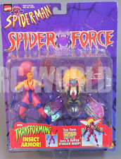 Marvel SPIDER MAN Spider Force TARANTULA Transforming Insect  Action Figure #RK2