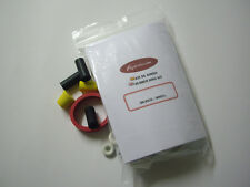 HURRICANE PINBALL WHITE RUBBER RING KIT - KIT GOMAS PINBALL FLIPPER