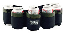 Premium Hops Holster Beer Can Belt - Holds 6 Cans - Camo - Tailgate Party Gift