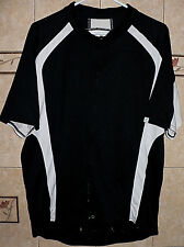 CANONDALE SIGNATURE ADULT CYCLING BLACK & WHITE JERSEY AUTHENTIC 2X-LARGE SIZE