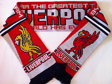 LIVERPOOL GREATEST Football Scarves New made with soft luxury acrylic yarns
