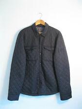 SUPERDRY | Men's Black FUJI JACKET Lightweight Nylon Quilted Padded Jacket | 2XL