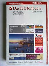 Das Telefonbuch Emden,Leer,Wilhelmshaven 2014 Verlag Heinz Heise