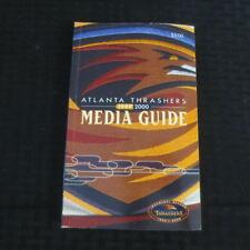 1999-2000 Atlanta Thrashers Inaugural Season Media Guide