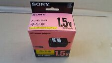 New Genuine Sony AC-E15HG 1.5v 700mA AC Power Adapter
