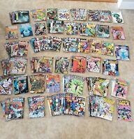 Huge Lot 150+DC/Marvel Comics Incl 6 1st PRINTS-Superman/Flash/Punisher/GL &More
