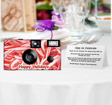 20Pack Candy Canes Disposable Cameras, Christmas, Holiday, Wedding Cameras 53212