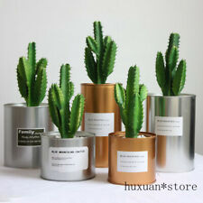 Cactus Artificial Succulent Green Fake Plant Indoor Room Table Decoration Garden