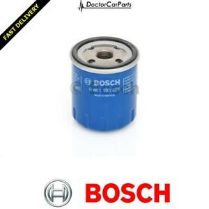Fits Peugeot 106 MK1 Genuine Bosch Screw On Oil Filter