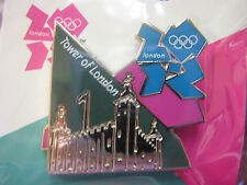 LOT of 12 PINS - London 2012 Olympic Pin - Tower of London
