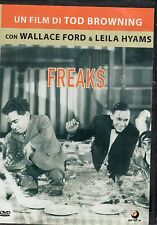 Freaks - TOD BROWNING,  Film in DVD del 1932 - ST496