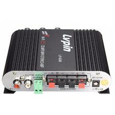 12V 200W Mini Hi-Fi Stereo Amplifier Car Radio Channels 2 House Super Bass FK