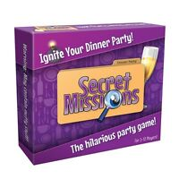 Secret Missions Dinner Party Game Easter Fun for all