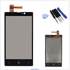 Front Outer Digitizer Touch Screen Glass Lens Panel For Nokia Lumia 820 + Tools