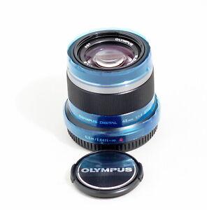 MINT Olympus M.Zuiko 45mm f/1.8 ED MSC Lens Silver Om-D E-M5 M10 III MFT PL5 PL7