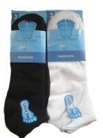 6X Pairs Men's Big Foot Trainer Liner Ankle Socks Cotton Blend Sock Size 11-14