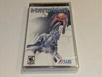 *NEW/SEALED* R-TYPE COMMAND Sony Playstation Portable PSP Video Game